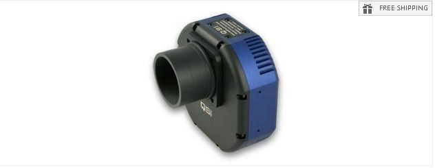 QSI 620I MONOCHROME CCD CAMERA - ELECTRONIC SHUTTER ONLY