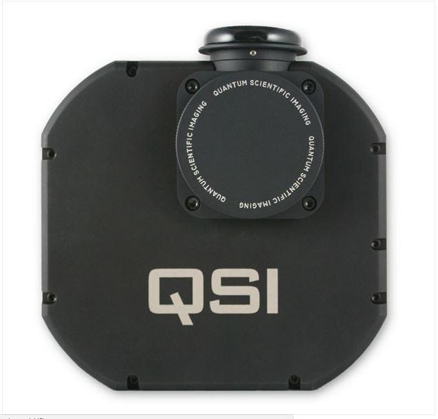 QSI 660WSG MONO CCD CAMERA - MECHANICAL SHUTTER, INTEGRATED GUIDER PORT & 5 POSITION FILTER WHEEL