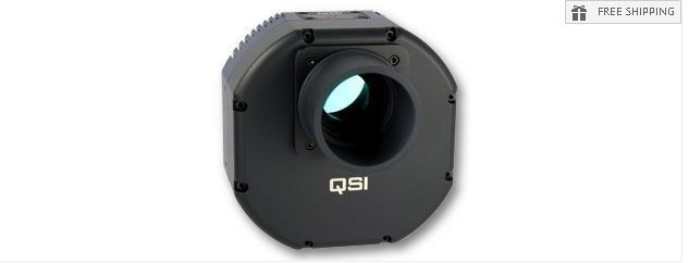 QSI 683WS MONOCHROME CCD CAMERA - MECHANICAL SHUTTER & 5-POSITION CFW