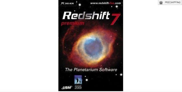 REDSHIFT 7 PREMIUM PLANETARIUM SOFTWARE