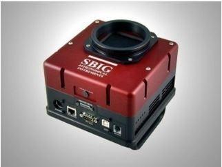 SBIG STX-16803 MONOCHROME CCD CAMERA W/ FW5 STX FILTER WHEEL