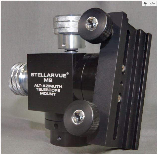 STELLARVUE M2C MOUNT HEAD- COMBO D/V DOVETAIL SHOE