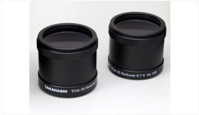 TAKAHASHI TOA-35 0.7X REDUCER & CAMERA RING - TOA-150, TSA-102/120