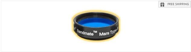 """TELE VUE BANDMATE MARS TYPE B FILTER - 1.25"""" ROUND MOUNTED"""