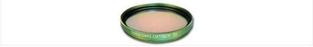 """1000 OAKS OXYGEN III (OIII) FILTER - 2"""" ROUND MOUNTED"""