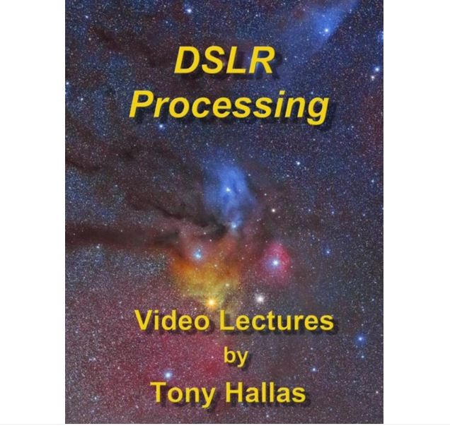 DSLR PROCESSING DVD - VIDEO LECTURES BY TONY HALLAS