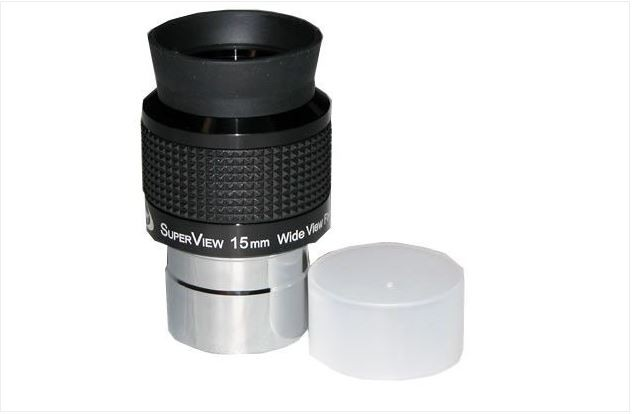 TPO 15MM SUPERVIEW EYEPIECE - 1.25""