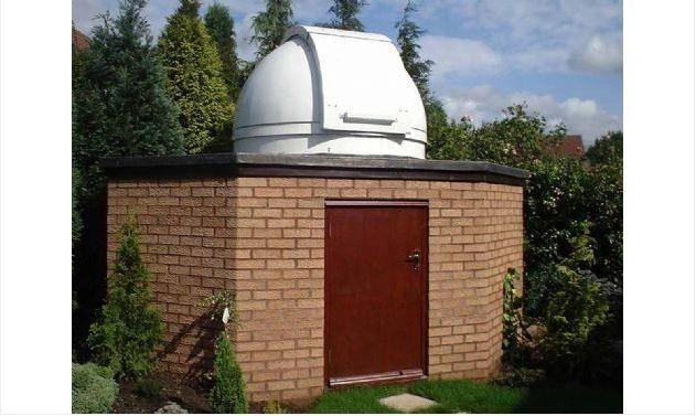 "TECHNICAL INNOVATIONS HOME DOME - 6' OBSERVATORY - SHORT 9"" BASE RING"