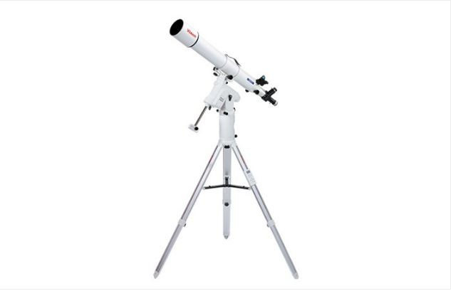 VIXEN A105M REFRACTOR TELESCOPE W/ SPHINX SX2 MOUNT & STAR BOOK ONE
