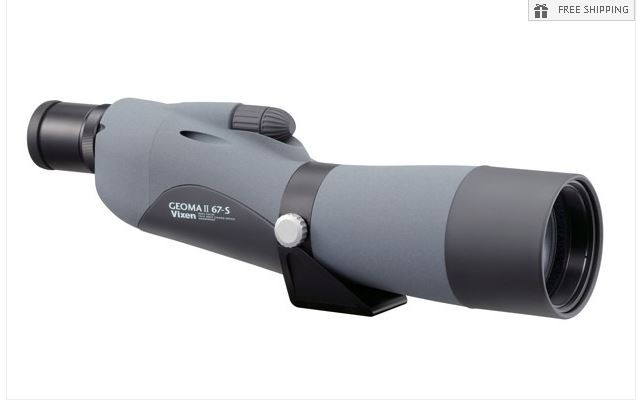 VIXEN GEOMA II 67-S STRAIGHT SPOTTING SCOPE