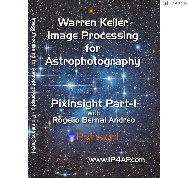 KELLER/ ANDREO - PIXINSIGHT PART 1 - DVD TUTORIAL VIDEO
