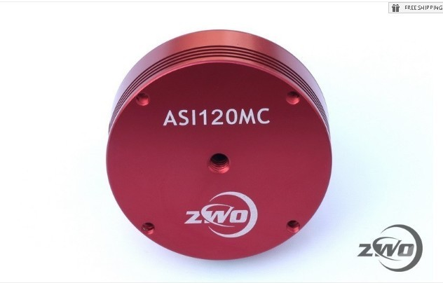 ZWO ASI120MC COLOR ASTRONOMY CAMERA
