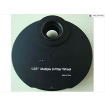 FUTURE OPTICS NINE-POSITION MANUAL COLOR FILTER WHEEL - 1.25""