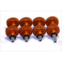 ADM TRIPOD KNOB SET FOR CELESTRON CGE MOUNT - ORANGE