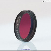 """ASTRONOMIK H-ALPHA 12NM CCD FILTER - 1.25"""" ROUND MOUNTED"""