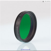 """ASTRONOMIK OIII 12NM CCD FILTER - 1.25"""" ROUND MOUNTED"""