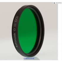 """ASTRONOMIK OIII 12NM CCD FILTER - 2"""" ROUND MOUNTED"""