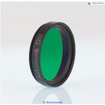 "ASTRONOMIK OIII FILTER - 1.25"" ROUND MOUNTED"