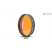 "BAADER ORANGE 570NM LONG-PASS FILTER - 2"" ROUND MOUNTED"