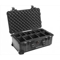 BKA PELICAN 1514 CASE W/ DIVIDERS BLACK
