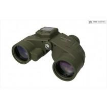 CELESTRON 7X50 CAVALRY BINOCULARS W/GPS, DIGITAL COMPASS & RETICLE