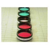 "CUSTOM SCIENTIFIC H-ALPHA 10NM FILTER - 1.25"" ROUND MOUNTED"