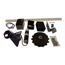 EXPLORA-DOME ROTATION KIT 2 - GEAR, TRACK, MOTOR, BATTERY & KEY BOB CONTROL