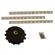 EXPLORA-DOME ROTATION KIT 1 - GEAR, TRACK & TRACK SCREWS