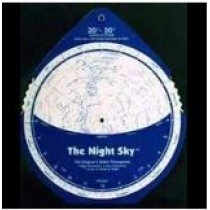 NIGHT SKY PLANISPHERE - 30-40 NORTH