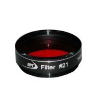 "TPO #21 ORANGE FILTER & CASE - 1.25"" ROUND MOUNTED"