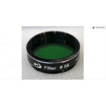 "TPO #56 LIGHT GREEN COLOR FILTER & CASE - 1.25"""