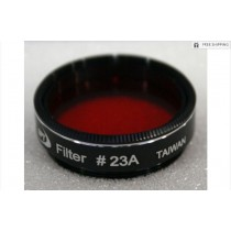"""TPO #23A LIGHT RED FILTER & CASE - 1.25"""""""