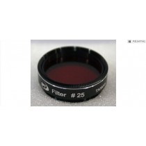 """TPO #25 RED COLOR FILTER & CASE - 1.25"""""""