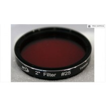 """TPO #25 RED COLOR FILTER & CASE - 2"""""""