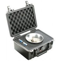 PELICAN 1150S HARD CASE WITH FOAM - SILVER