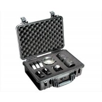 PELICAN 1500B HARD CASE WITH FOAM - BLACK
