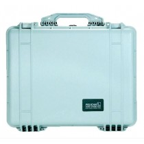 PELICAN 1550S HARD CASE WITH FOAM - SILVER