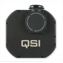 QSI 628WSG MONO CCD CAMERA - MECHANICAL SHUTTER, INTEGRATED GUIDER PORT & 8-POSITION FILTER WHEEL