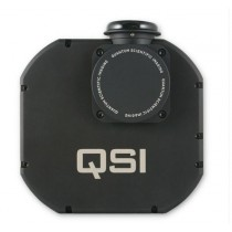 QSI 660WSG MONOCHROME CCD CAMERA - MECHANICAL SHUTTER, INTEGRATED GUIDE PORT & 8 POSITION FILTER WHEEL