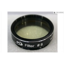 """TPO #8 LIGHT YELLOW COLOR FILTER & CASE - 1.25"""""""